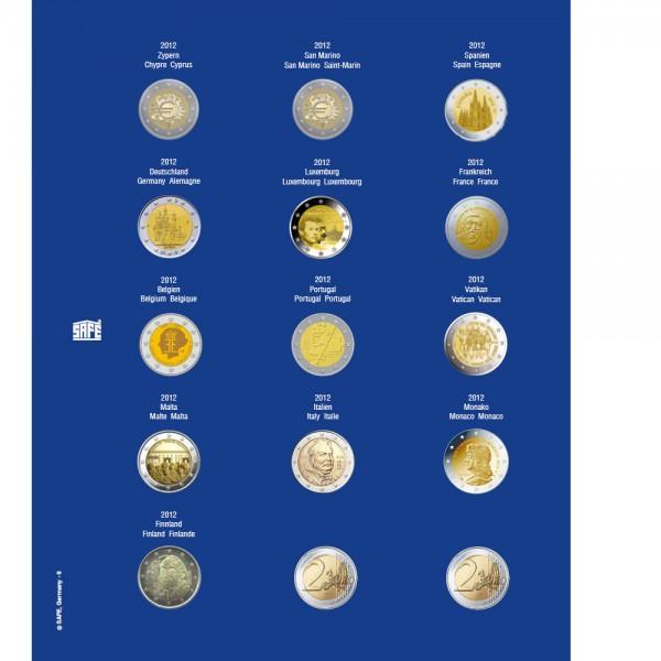 Feuille TOPset 2 € 2012 - 7822-9