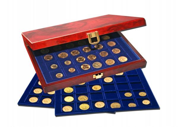 """Coffrets """"Premium"""" pour monnaies variées"""