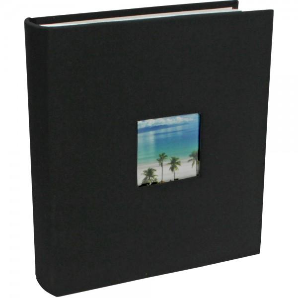 "Album photos ""Textile"" noir"